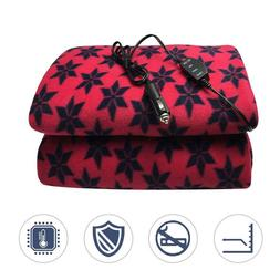 12V Pattern Ice Car Blanket Cover Saving Heating Electric Re