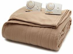 Biddeford 1003-903292-706 Comfort Knit Electric Heated Blank