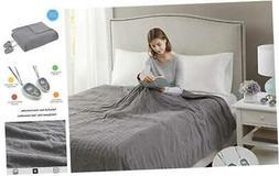 Beautyrest Electric Micro Fleece Luxury Soft Blanket Throw-S