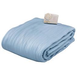 Biddeford Blankets Comfort Knit Heated Blanket, Queen, Cloud