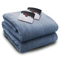 Biddeford Blankets 2034-905191-519 2034 Series Micro Plush H