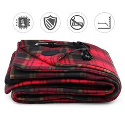 Car Electric Warm Blanket Safety Low Voltage Heating Blanket