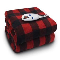 Electric Heated Throw Blanket Micro Plush With Digital Contr