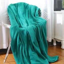 MaxKare Electric Heated Throw Blanket Polar Fleece 50'' x 60