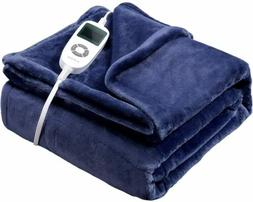VIPEX Electric Heated Throw Blanket with 10 Heat Settings Au