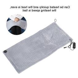 Electric Heating Pad Warming Mat Soft Shawl Winter Heated Bl