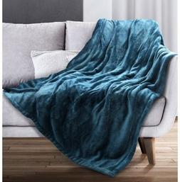 "Sable Electric Throw, Heated Blanket Fast-Heating, 50"" x 60"""