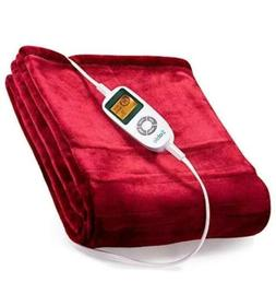 Sable Electric Throw, Heated Blanket Fast-Heating, Full Body