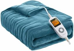 Homech Electric Throws, Electric Blankets with Double-Layer