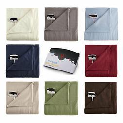 Biddeford Fleece Digital Electric Heated Blanket Twin Full Q