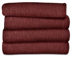Sunbeam Heated Throw Blanket | Fleece, 3 Heat Settings, Asso