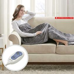 Beautyrest Foot Pocket Soft Microlight Plush Electric Blanke