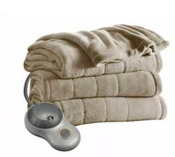 Sunbeam Full Electric Microplush Blanket with 10 Heat Settin