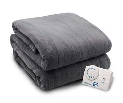Sealy Gray Twin Electric Blanket