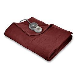 Sunbeam Heated Blanket | 10 Heat Settings, Quilted Fleece, G