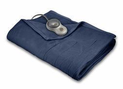 Sunbeam Heated Blanket 10 Heat Settings Quilted Fleece Newpo