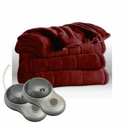 heated blanket king microplush dual controllers