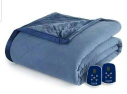Shavel King Size Electric Heated Blanket Micro flannel in In