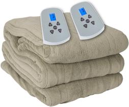 Westerly King Size Microlight Electric Heated Blanket with D