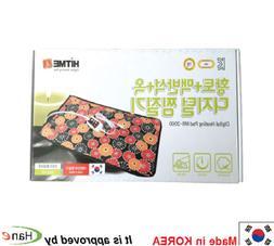 Korea Red Clay Elvan Jade Electric Heating Pad Blanket Auto