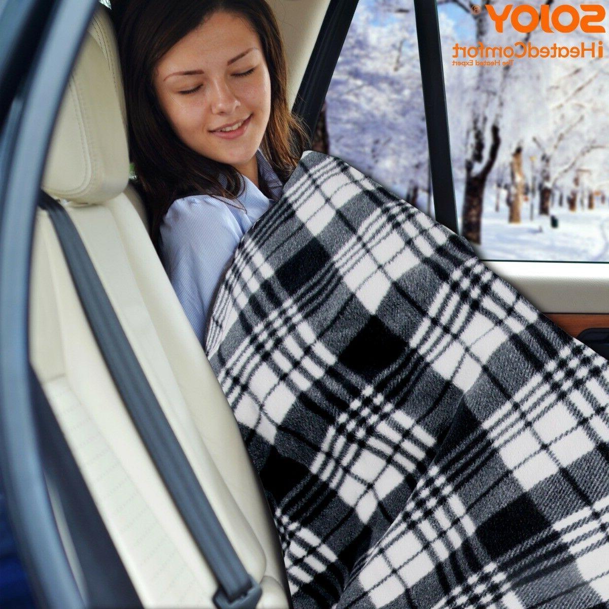 Sojoy 12V Heated Electric Blanket RV