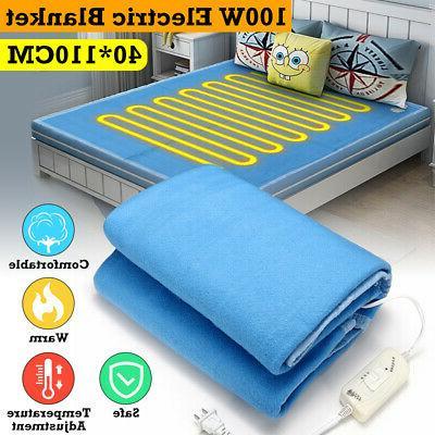 140x110CM Electric Heated Twin Warm Bedding