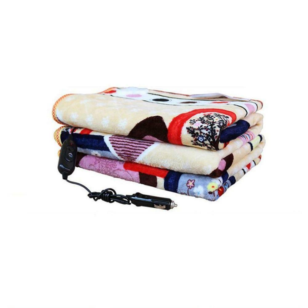 24V Car Heating Blanket Throw Bedroom