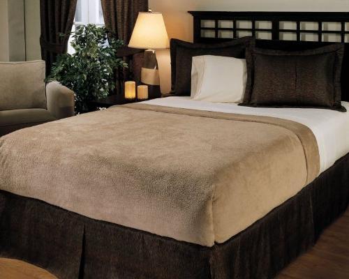 Biddeford 2033-905291-702 MicroPlush Heated Blanket
