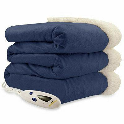Micro Sherpa Electric Heated Blanket