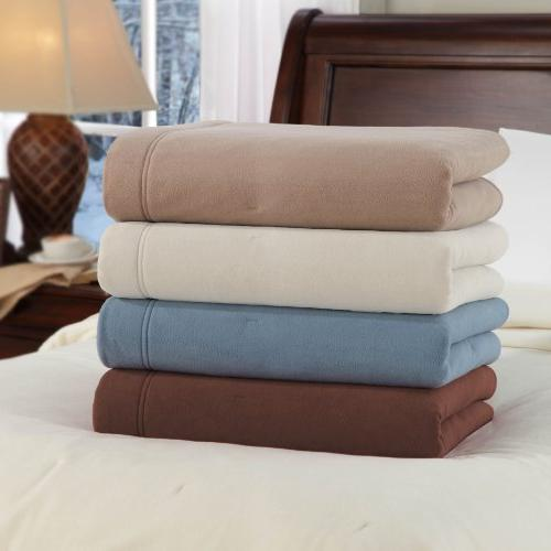 Soft Low Voltage Electric Blanket Blue