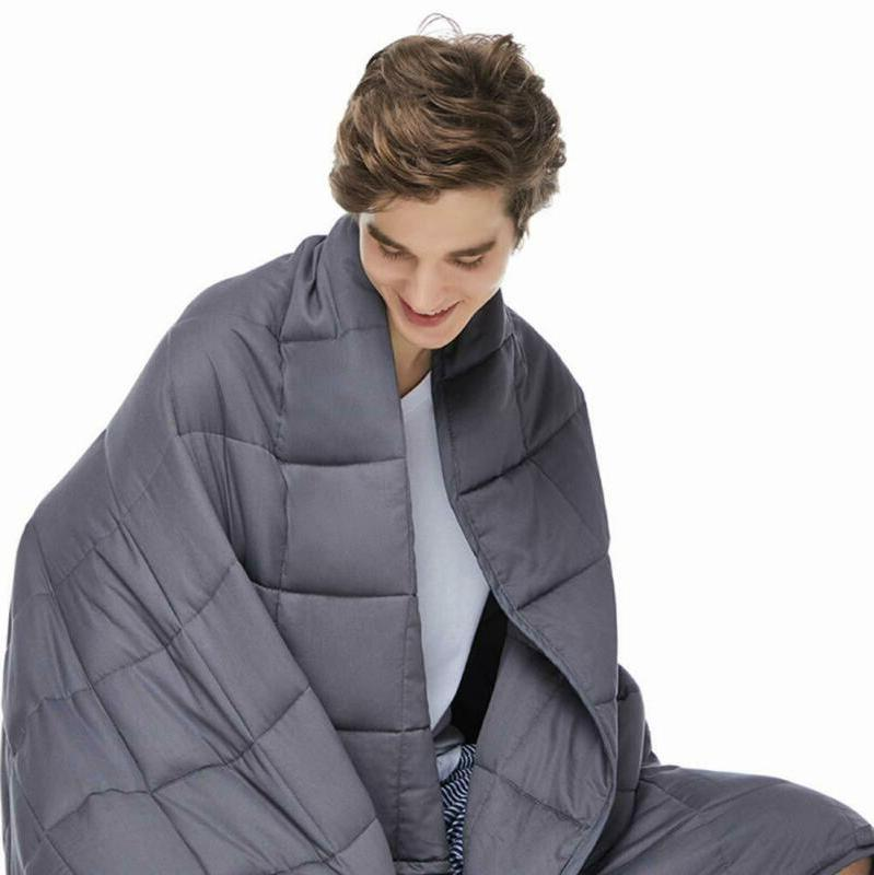 Zonli Adults Weighted Blanket 20 Lbs, Cooling Weigh
