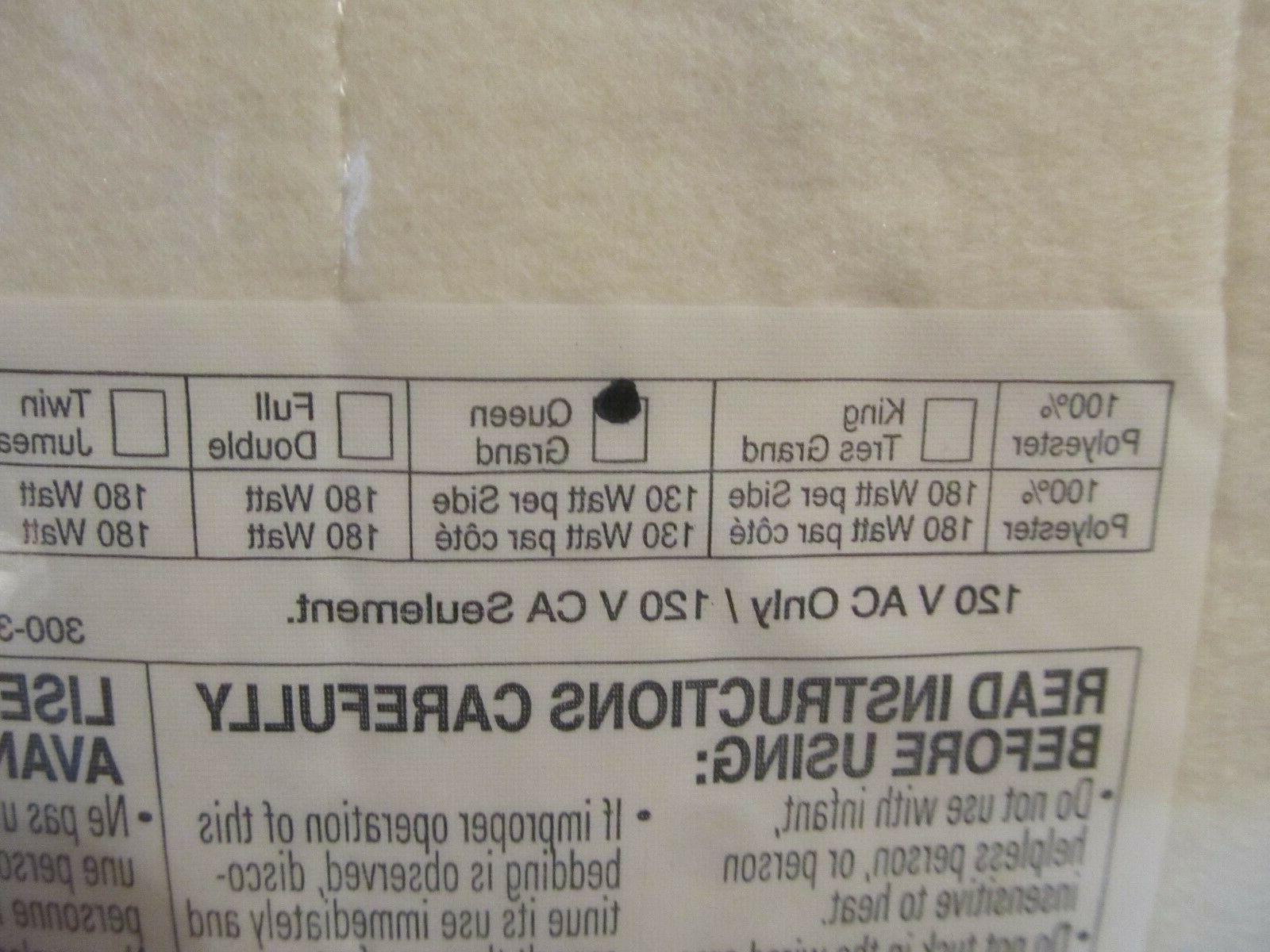 BIDDEFORD Knit Heated SIZE - - NIP