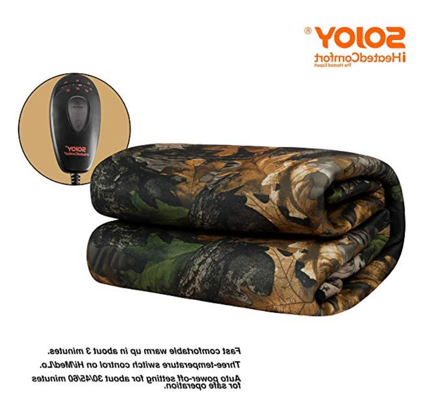 Camouflage Warm Electric Hi/Lo Temp Control