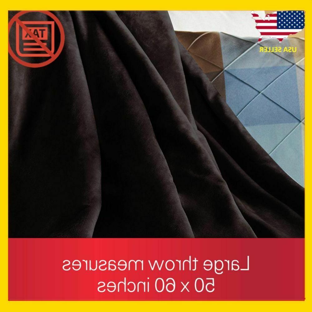 Electric Fleece Blanket Full Throw