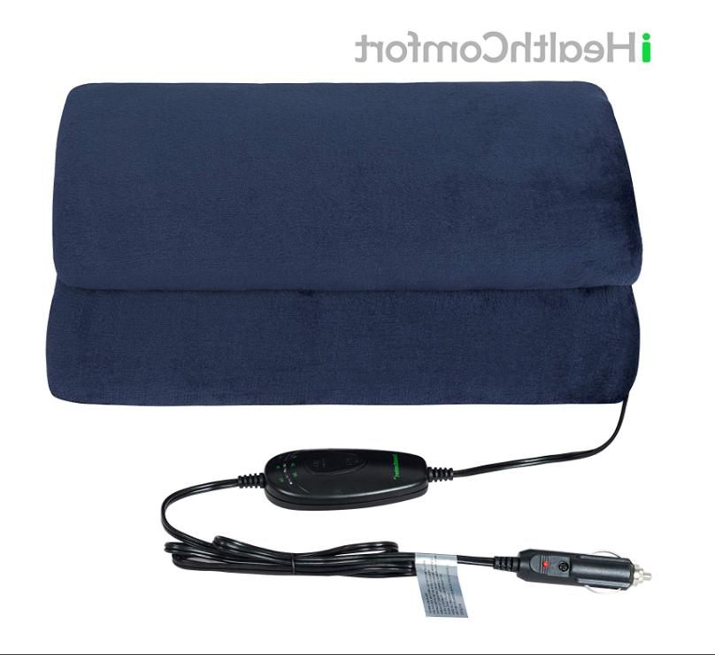 iHealthComfort Electric Heated Blanket Intelligent Time Control