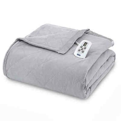 electric heated comforter blanket greystone size king