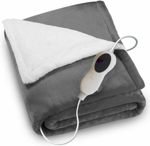 50 x 60 electric heated throw blanket