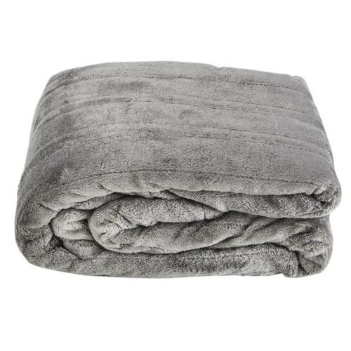 Westerly Heated Blanket, Gray