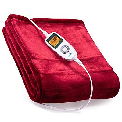 electric throw heated blanket fast heating full