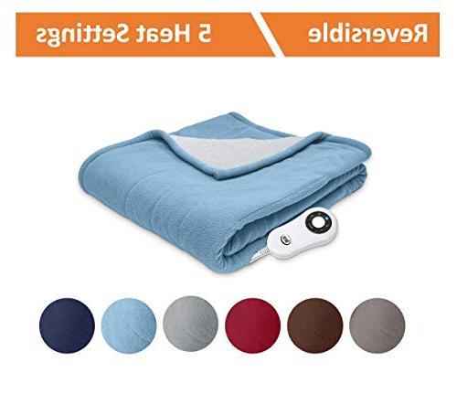 Heated Throw Blanket,
