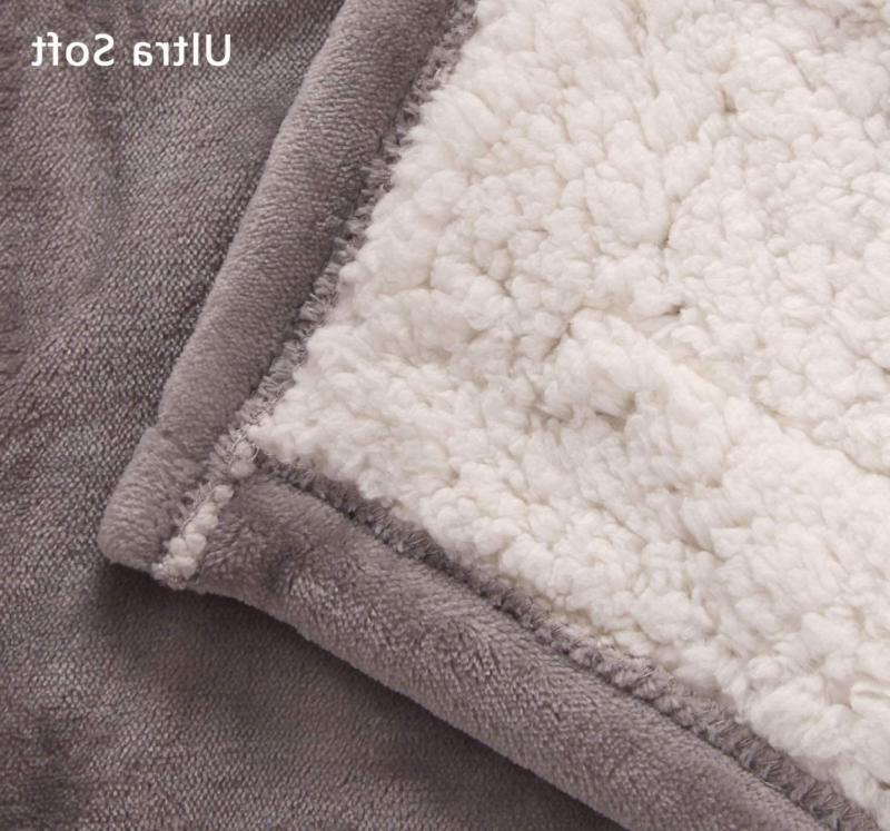 MARQUESS Blanket Sherpa Extra Soft, Brushed