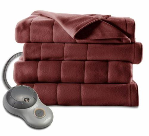 King Size Soft Quilted Electric Heated