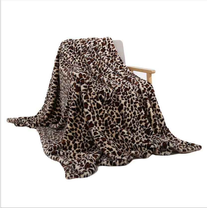 Leopard Micro Super Plush Fleece