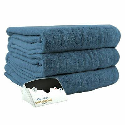 Biddeford Luxurious MicroPlush Electric Heated Blanket Queen
