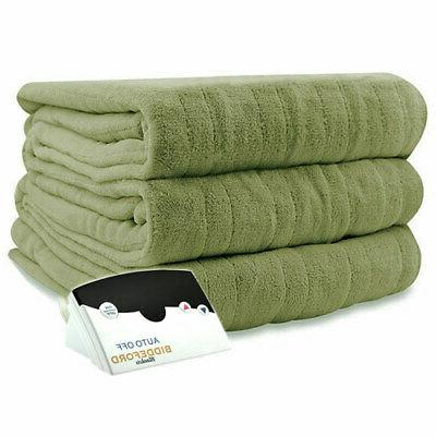 Biddeford Luxurious Electric Heated Blanket Twin Queen