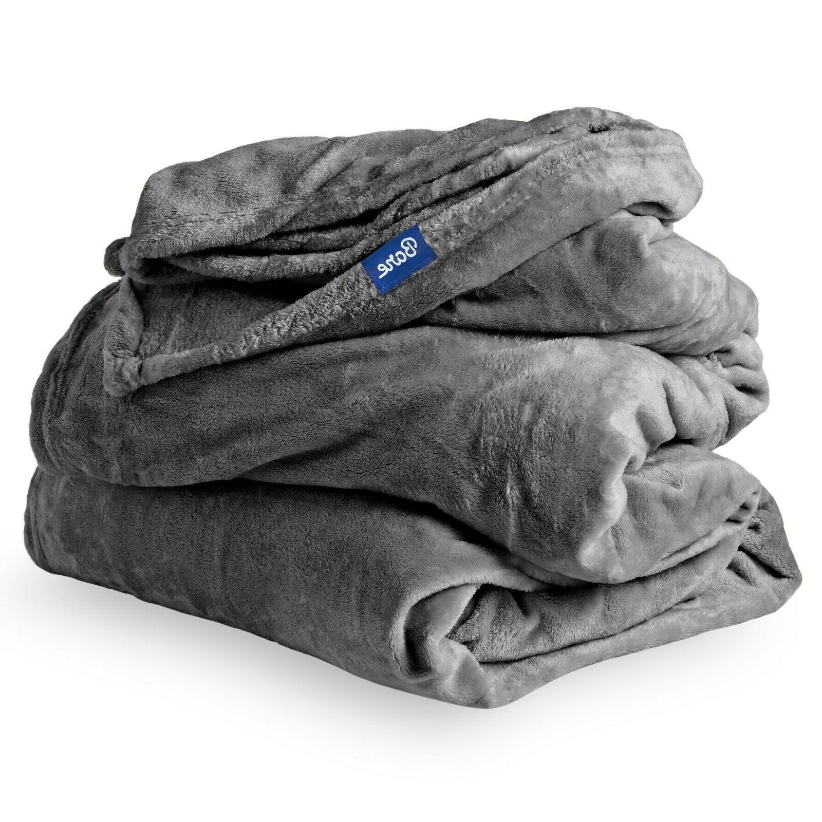 Microplush Velvet Fleece Blanket - Premium - Warm &