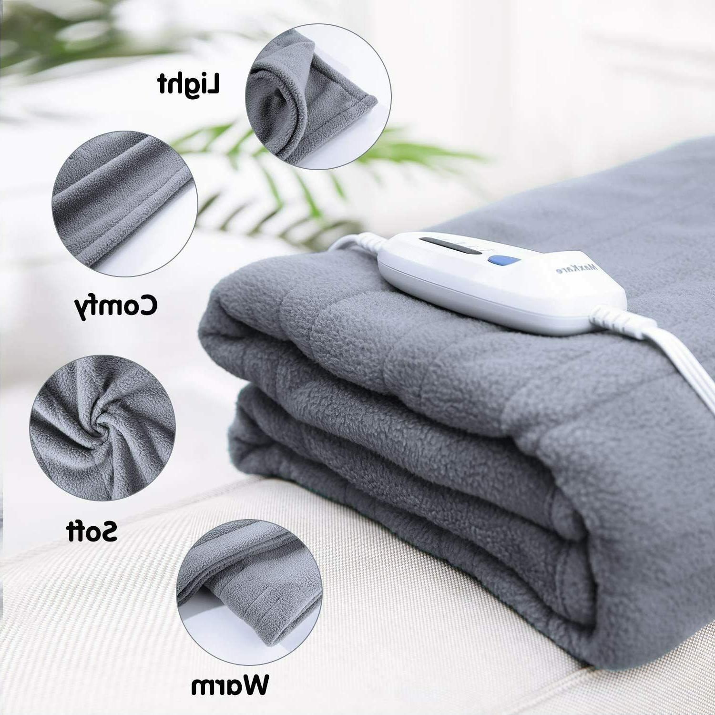 MaxKare Heated Blanket Twin 62'' HLB-TF
