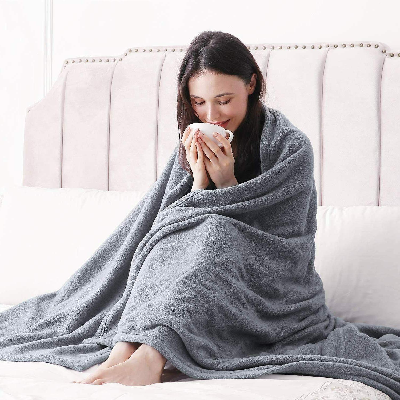MaxKare Polar Electric Heated Blanket Twin 62'' x 84'' HLB-TF