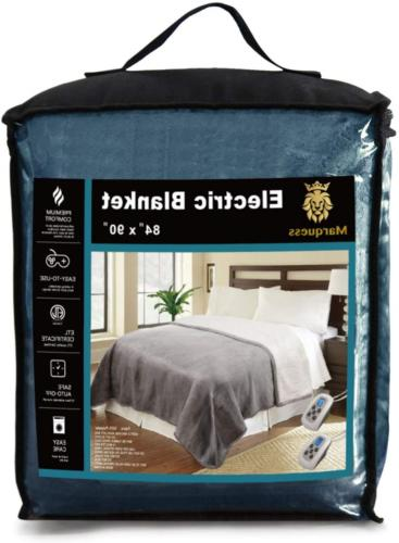 Queen Electric Sherpa and Reversible Washable with 10