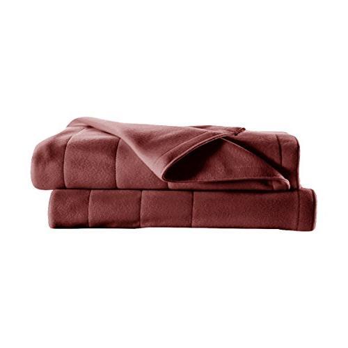 Sunbeam | 10 Heat Settings, Fleece, Garnet,